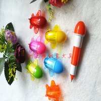 ball piont pen - new style creative plane shape Telescopic pen advertisement pen and expression ball piont pen