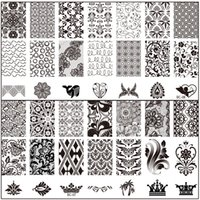 bc printing - CM BC Stamping Nail Art Plate Image Stamping Nail Printing Art Decor Manicure designs for choose