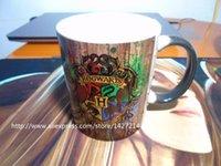photo mug - J K Rowling harry potter hogwarts photo morphing coffee mugs morph travel mug heat changing color porcelain printing Tea Cups