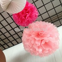 basket ball baby - inch cm High quality Tissue paper pom poms flowers ball baby shower for wedding party decoration
