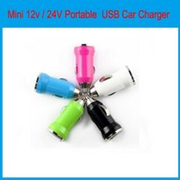 Wholesale Mini v V Portable USB Car Charger Power Adapter for iPhone iPad iPod Galaxy MP3 MP4 V out for Iphone plus