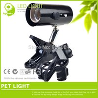 Wholesale Pet lamp holder with clip for E27 reptile bulbs and Temperature control Adjustable Switch for Reptile Health