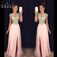 Reference Images rhinestone see through dress - 2016 Vestidos Crystal Split Side Prom Dresses Cap Sleeves Rhinestones Backless See through Royal Blue Evening Gowns BA2214 mz