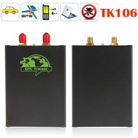 auto tracking antenna - New Version TK106 Car GPS Tracker Real Time Mini Quad band GMS GPRS SMS Auto Car Vehicle GPS Tracking Device
