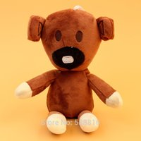 animated boy - New Mr Bean The Animated Series Cute inch Tall Teddy Bear Plush Figure Coll Brown Toy