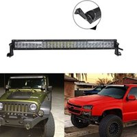 lens for cree led - 31 w D Reflector Lens CREE LED Work Lamp Bar Spot and Flood Combo Beam Led Fog Light for SUV Off road Car Truck Boating DHL K1969