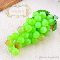 decorative artificial grapes - Novelty Idyllic Decorative Simulation of Artificial Fruits Large Grapes For Home Living Room Ornaments Shooting Props