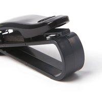 Wholesale 2015 New arrival Hot sale best quality pc Auto Visor Car Vehicle Accessories Glasses Sunglasses Card Hang Clip Holder F30417