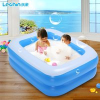 baby bubble bath - Le pro new infants and young children surfing pool Baby Bubble wading pool for adults Family Pool