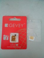gevey 5.1 - Newnest F918 Chip GEVEY ultra S Unlock card IOS7 ios ios ios to ios for iphone4s