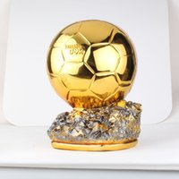 Wholesale 1 size footballer of the year gold trophycup for decoration and sports event