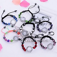 beaded bracelet watch - Mix colors HandmadeSHAMBALLA CRYSTAL DISCO BALL BLING BRACELET SHAMBALA DIAMANTE WATCH Balls Gift