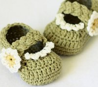 baby download - offInstant download Crochet for baby Braided Strap Booties2015wholesale fashion cute cheap crochet shoes6pairs