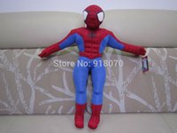amazing baby gift - cm small doll standing Amazing Spider Man baby toy Cartoon Spiderman plush toys children s Christmas gifts