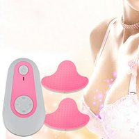 Wholesale Beauty Ladies Digital Electric TENS Bust Breast Enlargement Enhancer Growth Pads Instrument Therapy Massager Gift