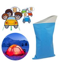 Wholesale Best Deal New Emergency Portable Toilet Outdoor Travel Urine Bag ECO FRIENDLY Urine Prevent Stink For Child Adult Unisex