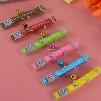 Wholesale New Brand cm Width Polka Dot Lace Cat Special Collar Puppy Necklace