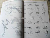 Wholesale New Tattoo Books Birds Chinese Painting tattoo books Tattoo Sketchbook Tattoo Flash