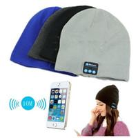 audio boy - Fashion Warm Hat Mini Wireless Speaker Bluetooth Receiver Audio Music Speaker Bluetooth Hat Cap Headset Headphone