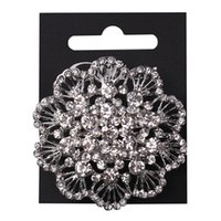 lots costume jewelry - Top Quality Crystal Glass Stones Pin Brooches Party Wedding Bridal Brooch Floral Costume Jewelry In Stock pc per