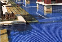 Wholesale Mosaic tile glaze glass Mosaic pool kitchen wall brick and wall brick Mosaic glass bathroom tile