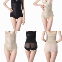 waist cinchers - Lady Sexy Elastic Slim Body Shapewear Waist Cinchers Girdle Body Underwear Woman Briefs Modal Belt Corset Trimmer Underpants ERI