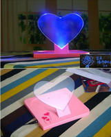 Wholesale Creative Love Shine LED Message Board Erasable Fluorescent Writing Board LED Advertising Board With Luminous To Lovers Free