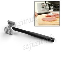beef pricing - Hot High Quality Aluminum Two Sided Meat Hammer Beef Pork Mallet Chicken Poultry BBQ Tenderizer Lowest Price AIA00546