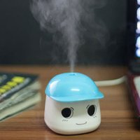 warm mist humidifier - USB Portable ABS Mini Cute Humidifier DC V For Home Office Purifier Air Diffuser Mist Maker Absorbent Filter Sticks H14347