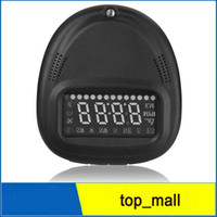 Wholesale Car Monitor Automative HUD GPS A1 Head Up Display vehicle alarm security system Speedometer KMH MPH Overspeed for cars