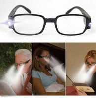 Wholesale 1 Multi Strength LED Reading Glasses Eyeglass Spectacle Diopter Magnifier