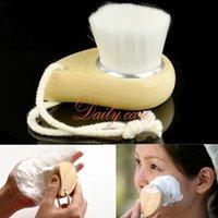 Wholesale Soft Facial Brush Deep Mild Fiber Face Clean Wash Brush Super High Quality