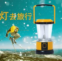 Wholesale 5Pcs Solar LED camping light tent lights camp lights multifunction outdoor emergency lighting Modes