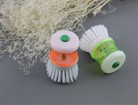 automatically clean toilets - With detergent pot automatically charging brush pot of brush brush pot brush clean bowl brush cleaning pot washing the dishes in the kitchen