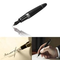 Wholesale Best Promotion Jinhao Black And Silver M Nib Fountain Pen Thick For Gifts Decorations Office Study Student Teachers Using