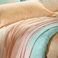 Cheap leaf bedding Best set jacquard