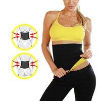 Wholesale DHL free Hot Shaper Hot Belt Hot Neoprene Slimming Waist Belts Body Shaper Slimming waist training corsets women waitingyou