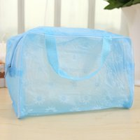 accesories for men - Travel Accesories Print Floral Storage Organizer Luggage Bags Transparent Waterproof Suitcase for Women Men Travel Trip SG368