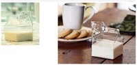 glass mug - Mugs Milk cartons Glass Kitchen Cups Novel Clear Breakfast Mugs with Sale For