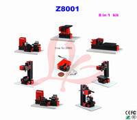 Wholesale 2016 in1 mini lathe machine Z8001 can be assembled different mini lathe to teaching