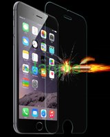 Wholesale 100pcs For iphone s Tempered Glass Screen Protector mm D Premium Explosion Proof Film