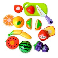 Wholesale Pretend Play kitchen toy set fruit baby toy best gift for kids pvc