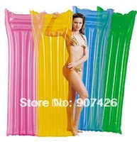 Wholesale Inflatable float row Swimming floating bed