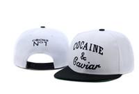 Wholesale NEW Cocain Caviar Snapback Hats Crooks NO1 Black Fashion mens women snapbacks baseball caps sun hat cap