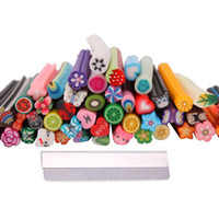 big cane - Big Promotion Cute Designs Nail Art Fimo Canes Sticks Stickers Rods Gel Tips Decoration
