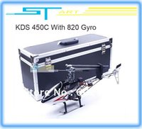 alu control - KDS C RTF Helicopter ch CH G D radio control ready to fly KDS800 Gyro Alu case KDS450C fee a toy gift