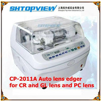 Wholesale Top View Lens Edger Machine Auto Lens Edger Edge Grinder for CR and GL Lens and PC Lens Nice Price Lens Edger CP2011A