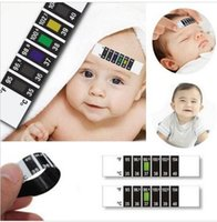 Wholesale 1 Piece Child Kid Forehead Test Temperature Head Strip Thermometer Fever Body Baby