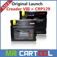 engine oil - Big discount Genuine Original Launch Creader VIII CRP129 scanner Creader OBD2 code scanner better than creader vii DHL