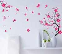 art borders - wall stickers home decor AY739 peach fifth generation no white borders PVC removable wall stickers transparent film commission